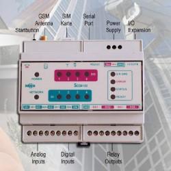 Echipament telemetrie SCADA profesional GSM/GPRS - SCOM100