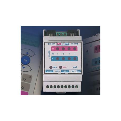 GE-AI4 - Modul intrari analogice pentru SCOM100