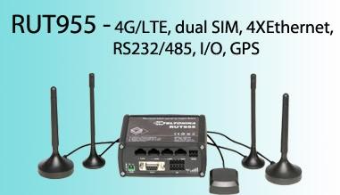 RUT 955 - Router 4G / LTE